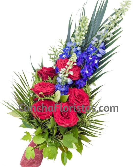 Ramo Funerario 6 Rosas Rojas Ramos De Flores Para Difuntos